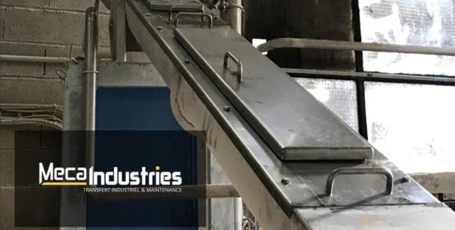 Fabrication inox - couvercles - Meca Industries