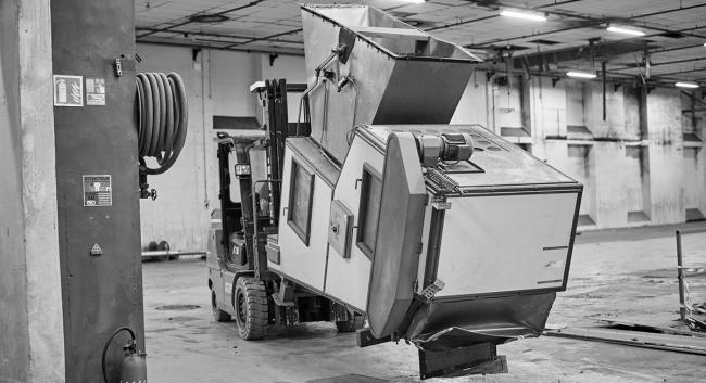Démantèlement - Manutention - Machine agroalimentaire