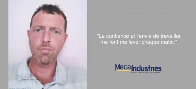 Interview Jean - Meca Industries