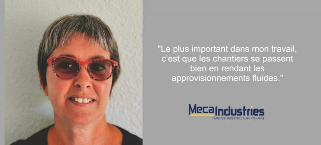 Interview Marie Meca Industries
